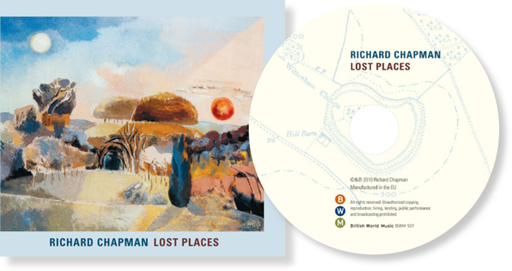 Lost Places cover  and CD